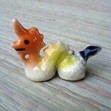Tiny Ceramic Cute Naga FIGURINE Home Decor MINIATURE Garden Decor Doll Bonsai