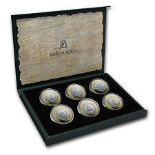 2014 Mexico 6-Coin Silver Numismatic Heritage Set (Series IV) - SKU #84435
