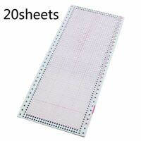 Knitting Pre-punch Cards Sewing Machine Tool Set Stitching Accessory Crafts 7pcs