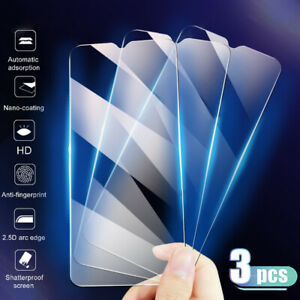 Premium Tempered Glass Screen Protector Cover Clear Front Film For Smart Phone