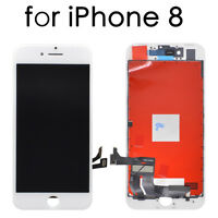White Display LCD Touch Screen Digitizer Assembly Replacement Parts For iPhone 8