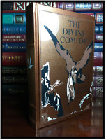 Dante's The Divine Comedy Illustrated by Gustave Dore New Leather Bound Hardback