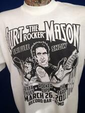 KKFI 90.1  Curt The Rocker Mason Tribute Show T Shirt Record Bar KCMO XL Vintage