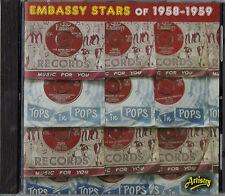 EMBASSY RECORDS on CD.  PAUL RICH MAUREEN EVANS RIKKI HENDERSON HAL BURTON~ NEW