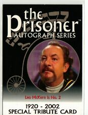 The Prisoner Series 1 Special Tribute Card PA10 Leo McKern as No.2