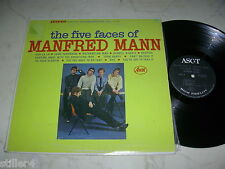MANFRED MANN The Five Faces of *US ASCOT LABEL 60s LP*