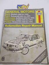 HAYNES GENERAL MOTORS N-CARS AUTOMOTIVE REPAIR MANUAL #38025 GM (1985-1995)