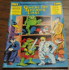 QUEST FOR DREAMS LOST Comic #1, EARLY TMNT, TEENAGE MUTANT NINJA TURTLES 1987!