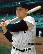MLB 1960 New York Yankee Roger Maris Color 8 X 10 Photo Picture