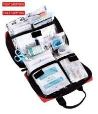 Best First Aid Kit Medical Supply Survival Gear emergency Bag car camping 115 pc
