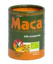 ♡♡ FLAMANT VERT ♡♡ Maca Bio x 340 comprimés - Tonus et Energie