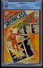 Showcase #4 (1956) CBCS Graded 3.0 RESTORED ~ 1st Flash ~ Not CGC