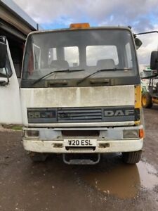 DAF FA55.180 Ti, 2000, 14' CHASSIS CAB MANUAL PUMP & GEARBOX ON SPRINGS SCRUFFY