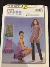burda sewing patterns ladies Young Fashion Dress 8123