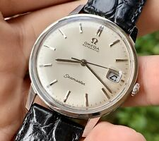 Vintage 1960s OMEGA Seamaster 166.002 SS Men's Watch Automatic Cal.565