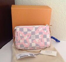 Louis Vuitton Tahitienne Damier Azur LE Mini Pochette Bag New