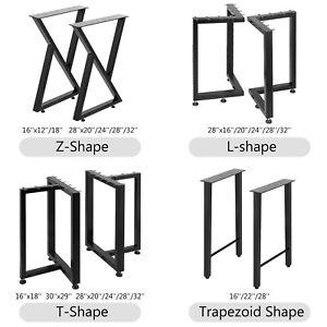 Metal Table Legs Dining Table,Adjustable Coffee Table Legs,Desk Legs Set of 2