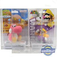 5 x Box Protectors for Nintendo Amiibo SLIM STRONG 0.5mm Plastic Display Case