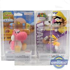 2x Nintendo Amiibo Box Protectors NEW Size STRONG 0.5mm PET Plastic Display Case