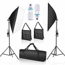 New ListingEmart Softbox Lighting Kit Photo Studio Equipment Photography Continuous Lightin