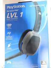 PlayStation PS4 Afterglow  051-031 v2.0- LVL 1 Chat Headset