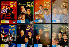 Two and a Half Men DVDs. Season 1 To Season 8. Free Delivery. Great Condition.
