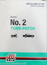 Rema Tip Top Round Tyre Inner Tube Puncture Repair Patches Agri, Truck, Car
