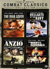 Anzio, The War Lover, Night of the Generals, Hellcats of the Navy - 4 film set