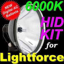 6000K 55W HID Kit for LIGHTFORCE 240 Blitz 170 Striker Spot Lights 4X4 4WD