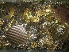 Bastelset Metallteile-Verbinder-Ohrhänger-AnhängerCharms-bronze-gold-silber 100g