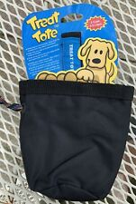 Canine Hardware, Treat Tote- Brand New Black —7 For Sale