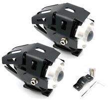 2pcs 125W 3000LM CREE U5 Motorcycle Motorbike Headlight LED Fog Spot Light Bulb