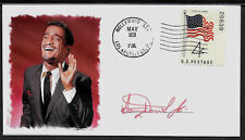 Sammy Davis Jr Rat Pack Limited Edition Collector's Envelope Repro Autograph 979
