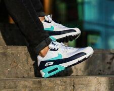 "BNWB & Genuine Nike ® Air Max 90 Essential ""Aurora Green"" Trainers UK Size 7.5"