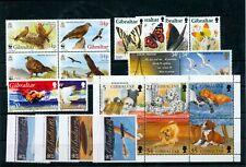 Gibraltar Aviation Wildlife Birds Dogs MNH (22 Stamps) NT 5561s