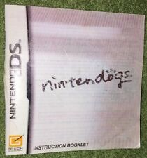 Nintendo DS Nintendogs - Instruction Booklet