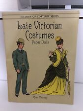 New ListingRare Vintage Paper Dolls Book - Late Victorian Costumes