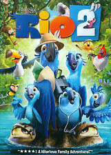 Rio 2 (DVD, 2014, Widescreen) Ships for FREE!  Awesome KIDS MOVIE!!!