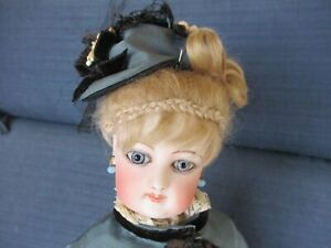 "16"" Antique Marked Lovely Francois Gaultier French Fashion Doll"