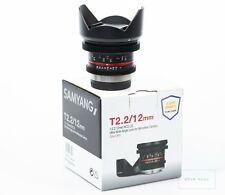 Samyang MF 12mm T2,2 Video Objektiv APS-C MFT Micro Four Thirds - Cine Lens