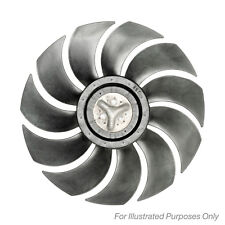 With AC Nissens Radiator Fan Genuine OE Quality Replacement Part