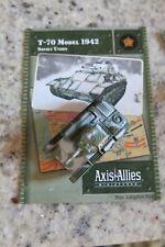 Axis & Allies Miniatures Set II 13 T-70 Model 1942 UC