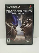 Transformers: The Game (Sony PlayStation 2, 2007) Complete