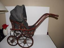 Beautiful ANTIQUE Vintage BABY DOLL Carriage Buggy Stroller