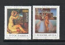 YUGOSLAVIA MNH 1993 SG2858-2859 EUROPA - CONTEMPORARY ART