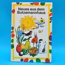 DDR | Neues aus dem Butzemannhaus | Kinderbuch | EA 1976 Beschäftigungsbuch