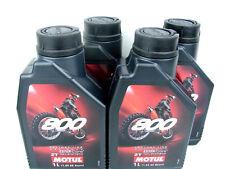 4x 1 Litro MOTUL 800 2t OFF ROAD ACEITE Factoría Line De Motor para 2-takt 2t