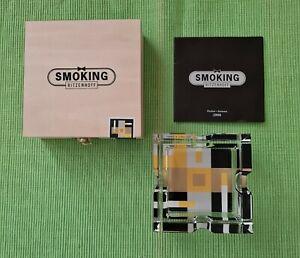 Ritzenhoff Aschenbecher Smoking in Holzkiste Design Glas Nina Jawitz 2007