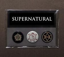 Supernatural sigil badge pack | angel demon Men of Letters | Sam Dean Winchester