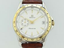 Zenith Elite Dual Time Automatic Caliber 682 Steel 90-410030